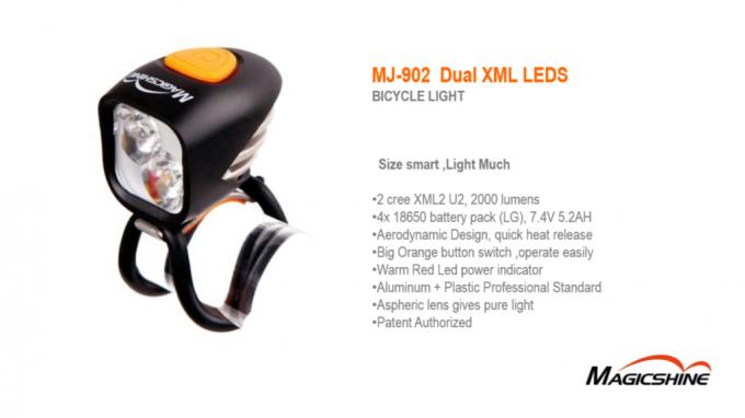 MJ-902-2000 inkl. MJ 910 Rücklicht als Komplettset